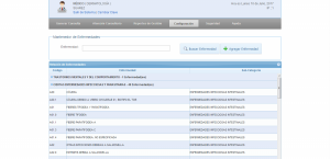 Registro de diagnósticos CIE10